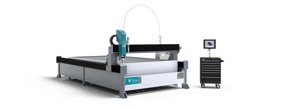 Flow Mach 2 2040c waterjet