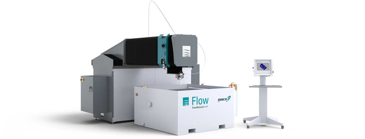 Flow Mach 3 1313b waterjet