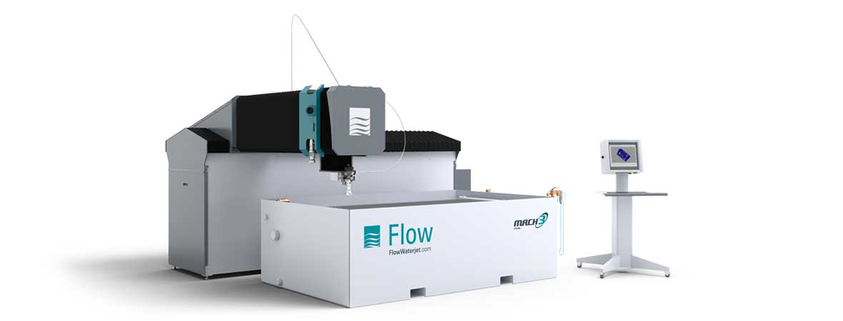 Flow Mach 3 2513b waterjet