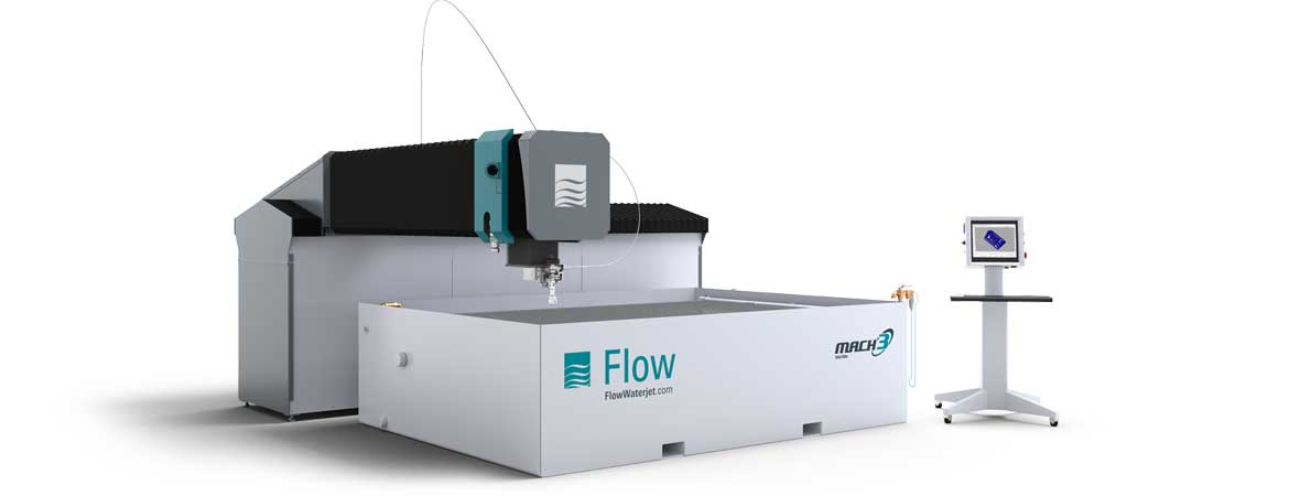 Flow Mach 3 3020b waterjet