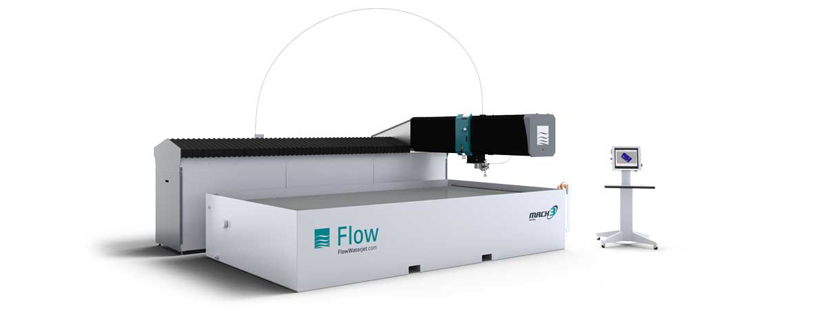 Flow Mach 3 4020b waterjet