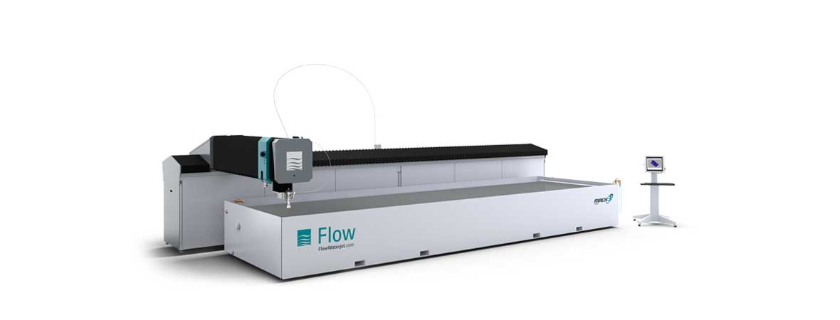 Flow Mach 3 7320b waterjet