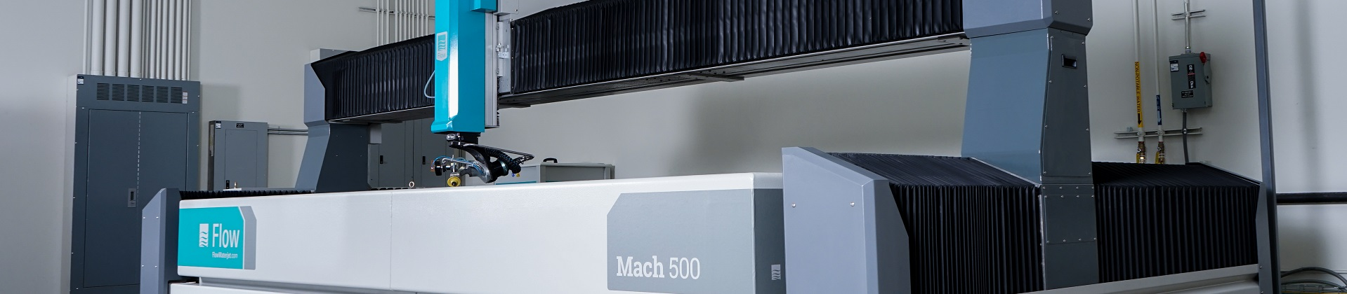 Preparing for your Waterjet. Flow's Mach series waterjets.